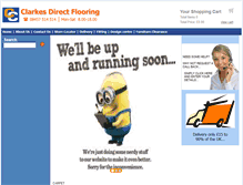 Tablet Preview of clarkesdirectflooring.co.uk